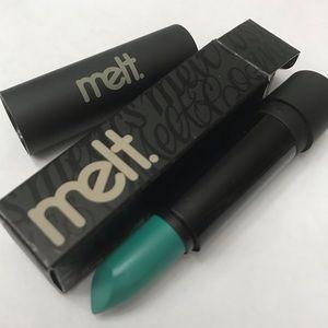 """Melt """"Blitzed"""" Teal Lipstick"""